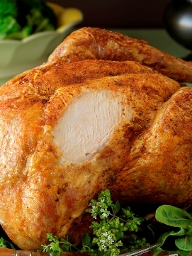 Deliciously moist turkey